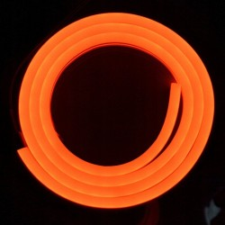 Neon FLEX LED 120 LED 12V 1m IP65 Pomarańczowy VIP
