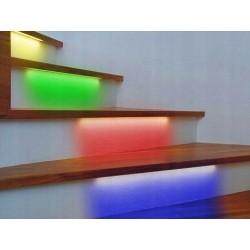 Taśmy LED RGB SCHODOWE ZESTAW Pilot Zasilacz