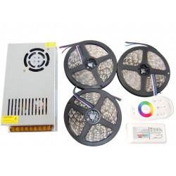 ZESTAW Taśma LED PREMIUM 25m 5050 RGB BIAŁY Miligh