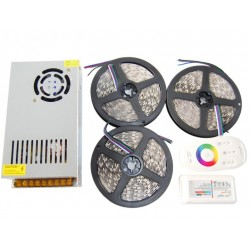 ZESTAW Taśma LED RGBW 14m PREMIUM 840D ZIMNA 5050