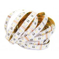 Taśma RGBW 4w1 60 LED 5050 1m 4 Chipy ZIMNA