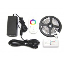 5m Tasma 150 LED RGB Kontroler Pilot FUT025 + Zasilacz