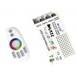Kontroler MUZYCZNY Taśma LED RGB 180W Pilot DISCO