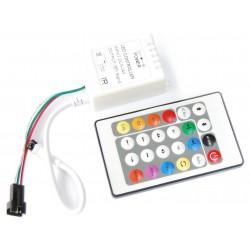 Kontroler RGB LED WS2811 WS2812 WS2812B 72W Pilot IR 72W