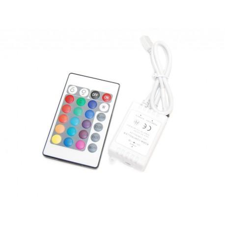 Kontroler RGB + PILOT na podczerwień, 20 funkcji