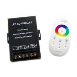 Kontroler RGB 360W 3x10A + PILOT Radiowy Dotykowy