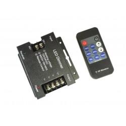 Ściemniacz LED 216W 18A 12/24V  + Pilot Radiowy