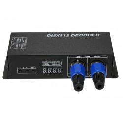Kontroler Dekoder DMX 512 RGB 288/576W 12-24V