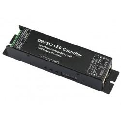 Kontroler Dekoder DMX 512 RGBW 16A 4x4A 192/384W 12-24V