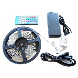 ZESTAW Taśma 300 LED RGBW 5m Biały Ciepły Zimny