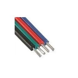 Przewód RGB KABEL Zasilają TAŚMA LED 12V 4x0,2mm