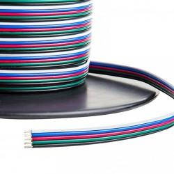 Przewód RGBW KABEL Zasilają TAŚMA LED 12V 5x0,2mm