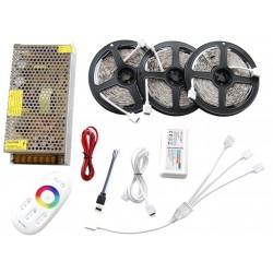 15m Tasma 150 LED RGB Kontroler Pilot FUT025 + Zasilacz