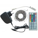 Zestaw Tasma 150 LED RGB 5m Kontroler Pilot DOTYKOWY FUT025 + Zasilacz