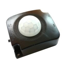 Włącznik PIR z Czujka Ruchu 7m oraz Sensorem Zmierzchu - CZARNA!