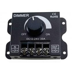 Ściemniacz LED 360W 30A 12-24V 1 Kanał