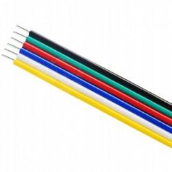KABEL Przewód RGBCCT Taśma LED 6x0,22mm