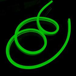 Neon FLEX 12 LED 12V Wąż ŚWIETLN 10cm IP65 Zielony
