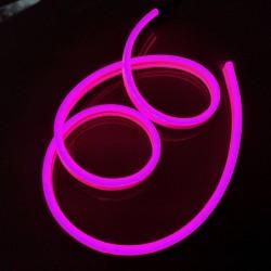 Neon FLEX 12 LED 12V Wąż ŚWIETLN 10cm IP65 Różowy