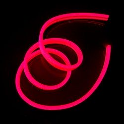 Neon FLEX 12 LED12V Wąż ŚWIETLN 10cm IP65 Czerwony