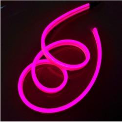 Neon FLEX 12 LED 12V Wąż ŚWIETLN 10cm IP65 Różany