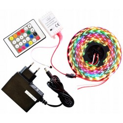 Taśma Magic 60 LED 2m 5050 RGB WS2811 Cyfrowa PROF