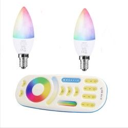 2X Żarówka FUT108 LED RGBCCT E14 Milight FUT092