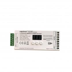Milight Odbiornik DMX512 D5-CX LED RGB+CCT 12-24V