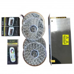 ZESTAW VIP 20m Taśma LED RGBW 4w1 B.Ciepła 5050