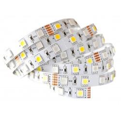 Taśma LED RGBW 5m PREMIUM 300D 72W ZIMNA 5050 HIT