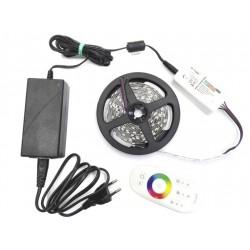 ZESTAW Taśma 150 LED PREMIUM 2,5m 5050 RGB BIAŁY